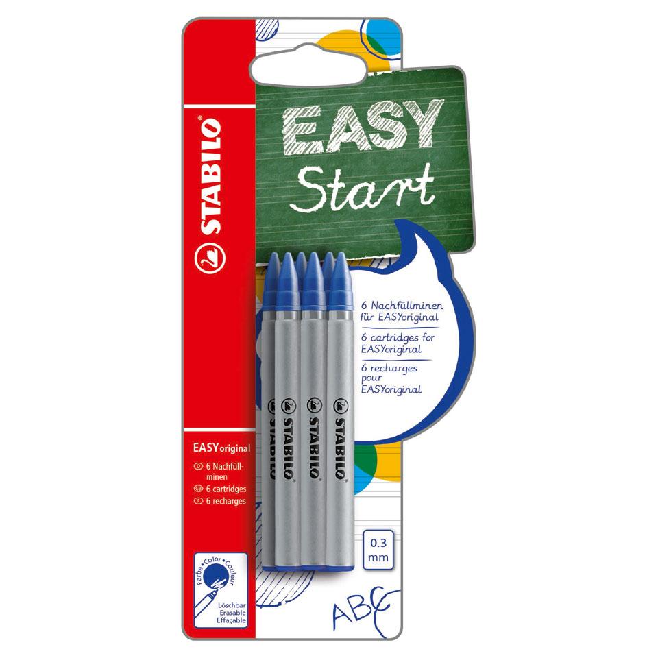 STABILO EASY navulling - blauw