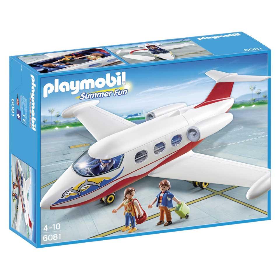 PLAYMOBIL Summer Fun vakantievliegtuig 6081