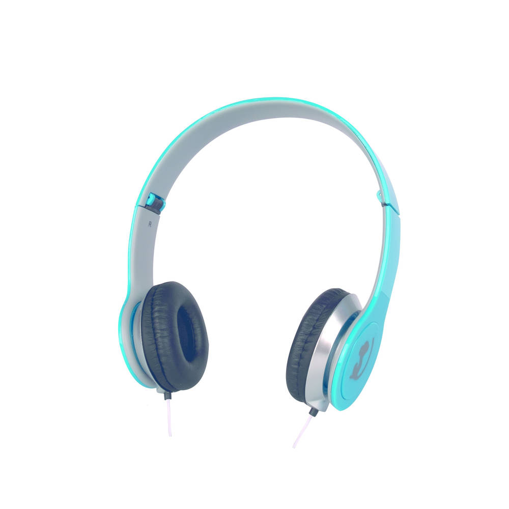 Wonky Monkey opvouwbare koptelefoon - blauw