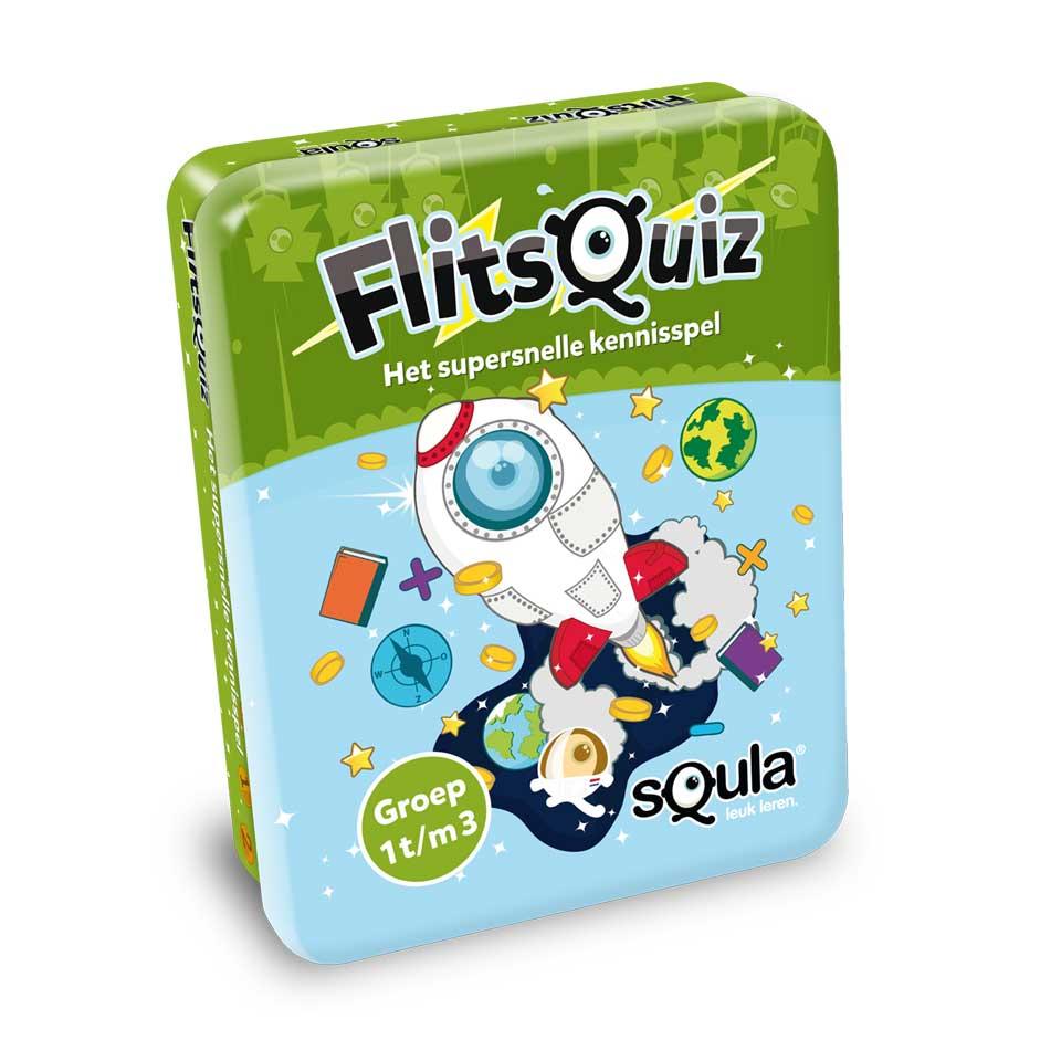 Squla FlitsQuiz groep 1, 2 en 3