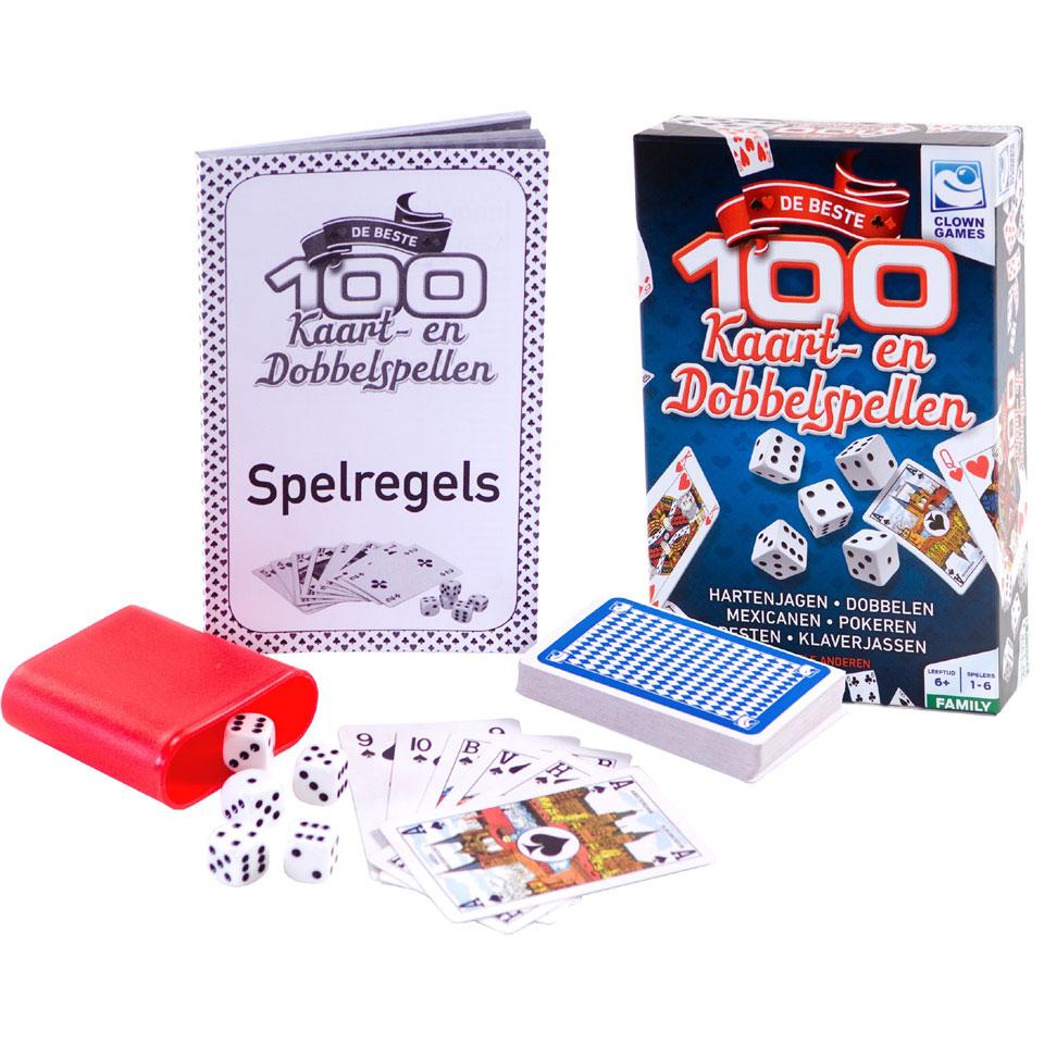 100 beste kaart & dobbelspel