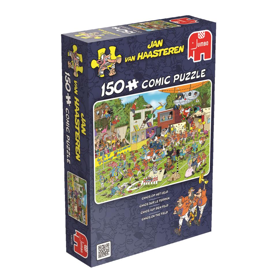 Jumbo Jan van Haasteren puzzel Chaos op het veld - 150 stukjes