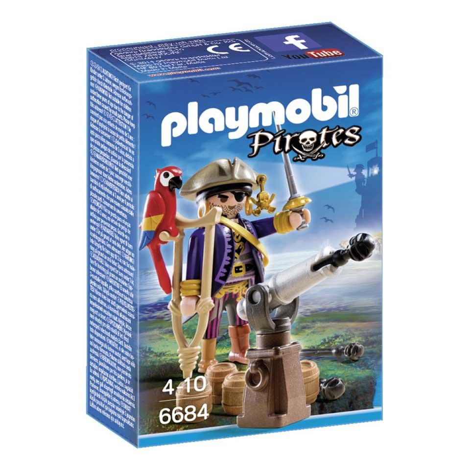 PLAYMOBIL Pirates Kapitein éénoog 6684