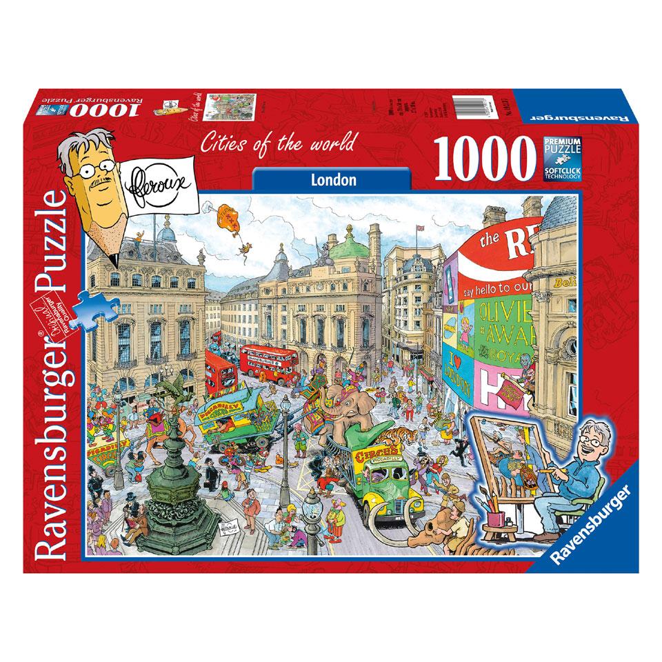 Ravensburger puzzel Fleroux Cities of the world: Londen - 1000 stukjes