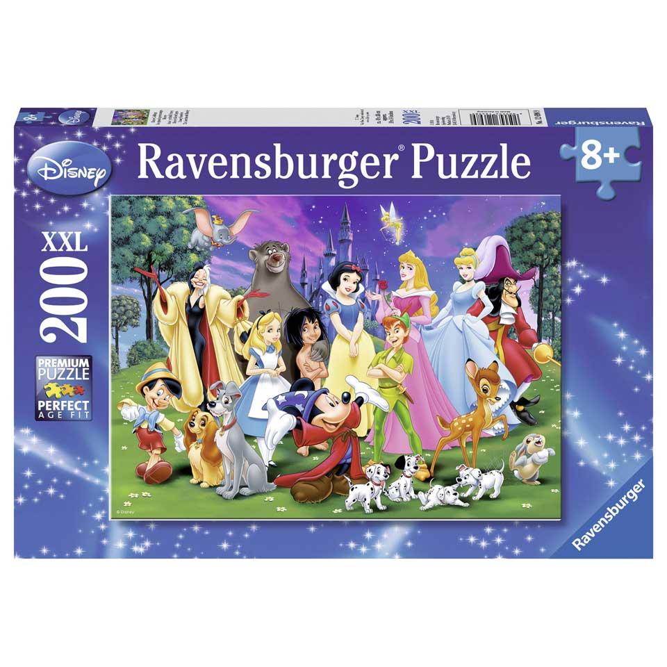 Ravensburger Disney puzzel Disney´s lievelingen -200 stukjes