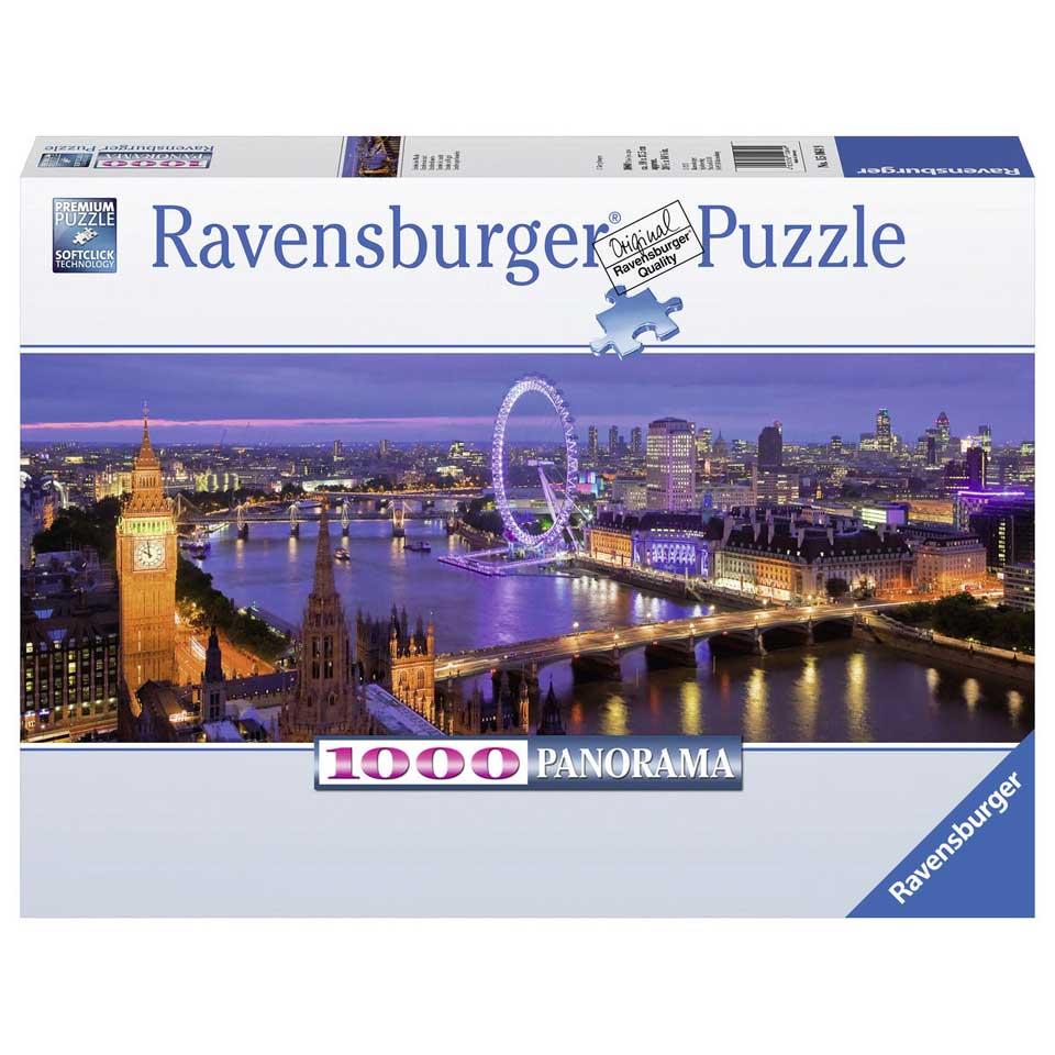 Ravensburger panoramapuzzel Londen bij nacht - 1000 stukjes
