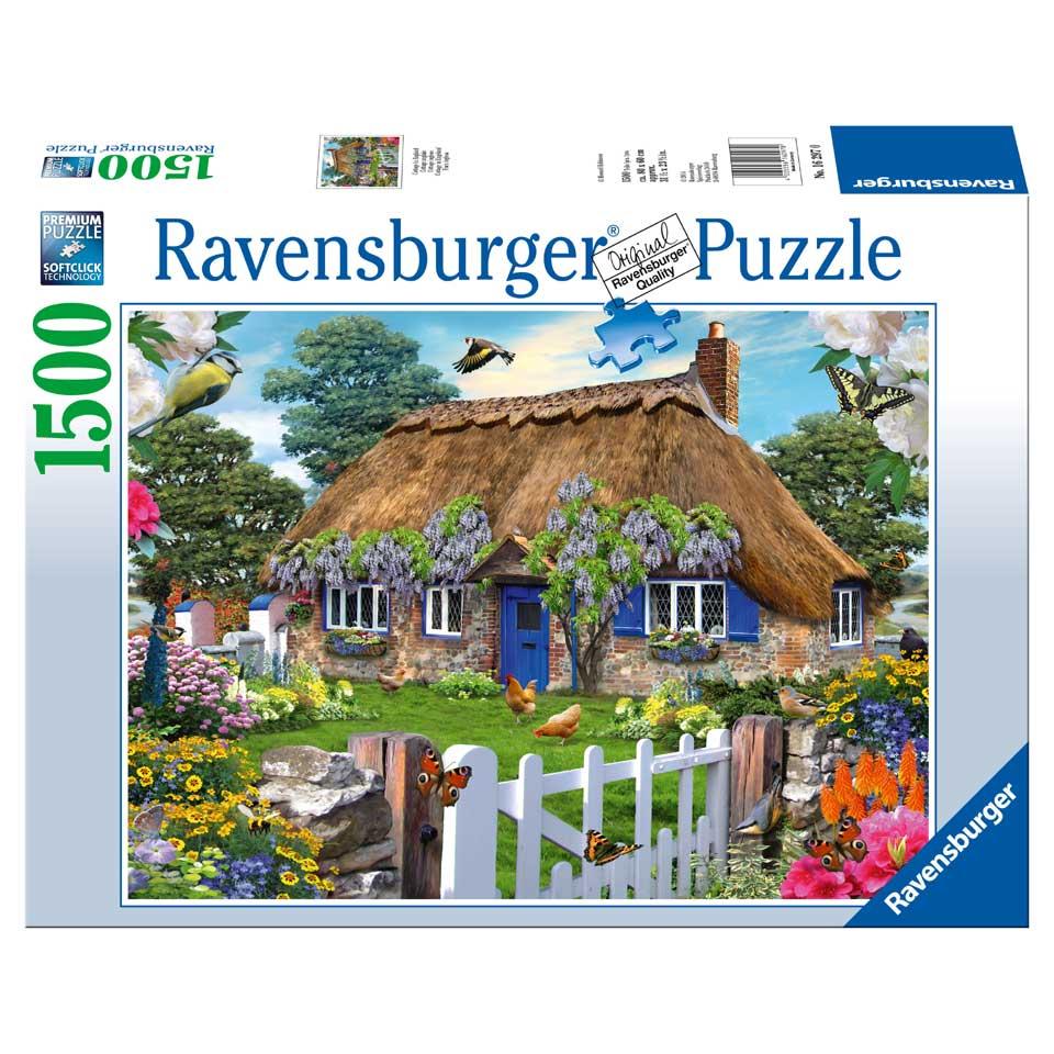 Ravensburger puzzel Cottage in Engeland - 1500 stukjes