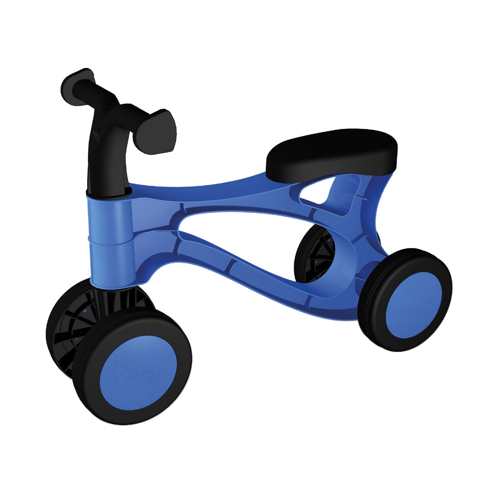 Lena My First Scooter loopfiets - blauw/zwart