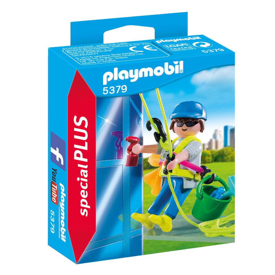 PLAYMOBIL SpecialPLUS glazenwasser 5379