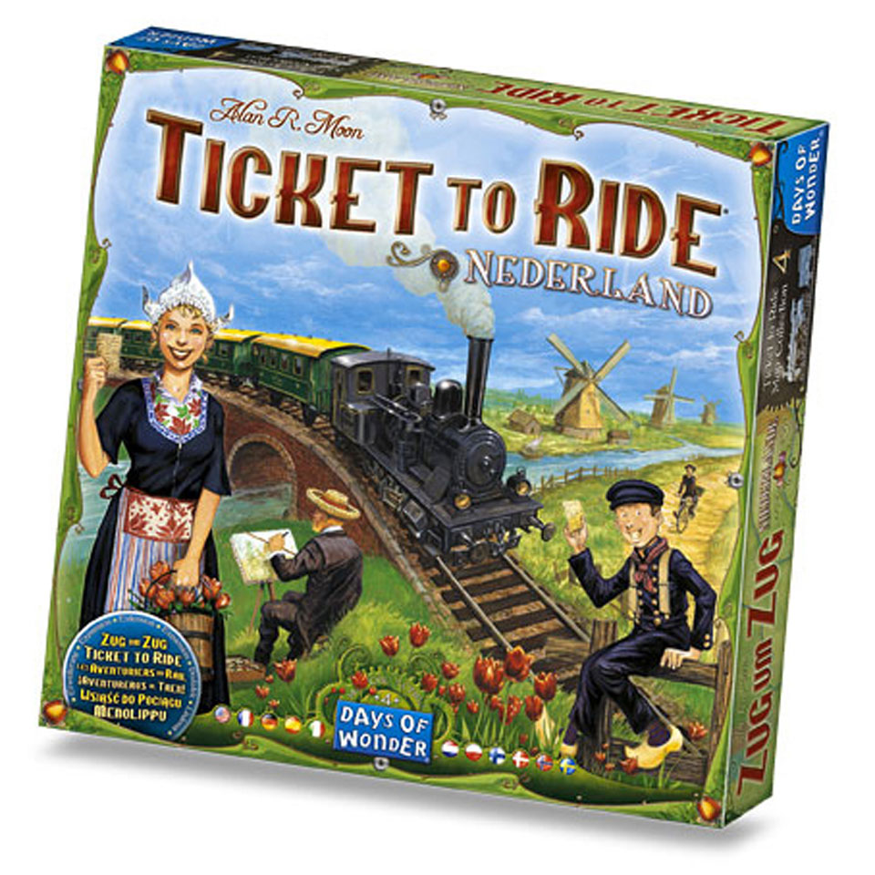 Ticket to Ride Nederland - Uitbreiding