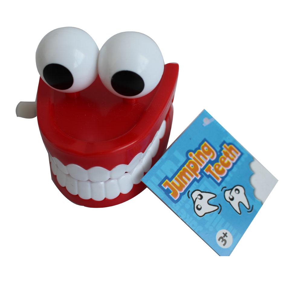 Springende tanden