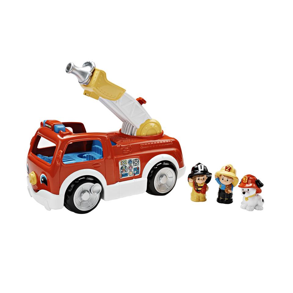 Fisher-Price Little People brandweerauto met ladder