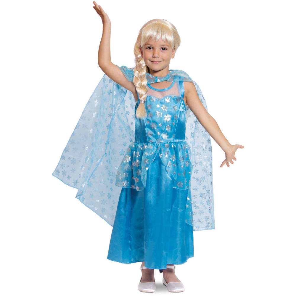 IJsprinses jurk - maat 116/134