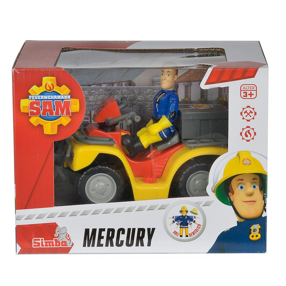 Brandweerman Sam quad Mercurius met Sam figuur