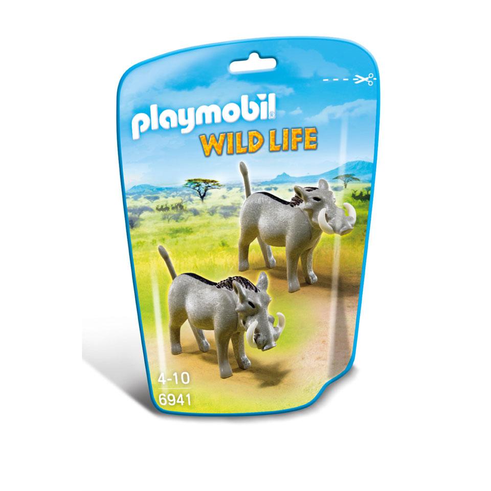 PLAYMOBIL Wild Life wrattenzwijnen 6941