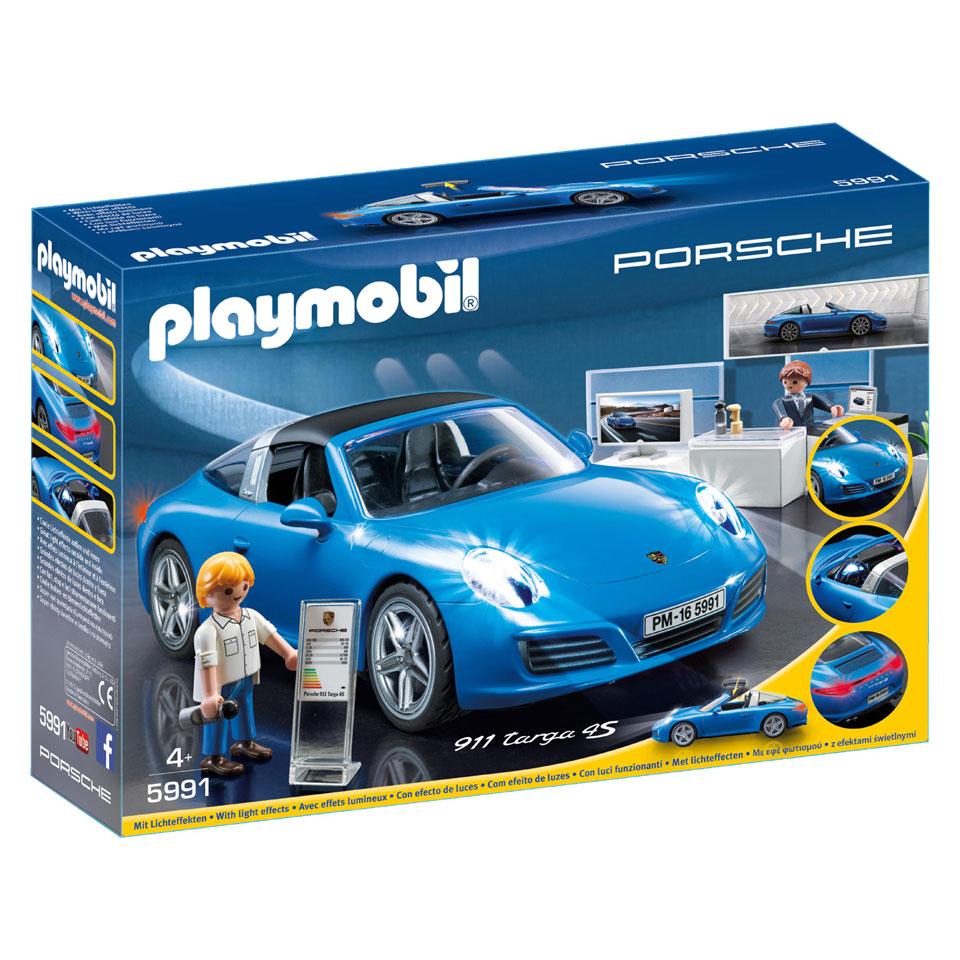 PLAYMOBIL Sports & Action Porsche 911 Targa 4S 5991