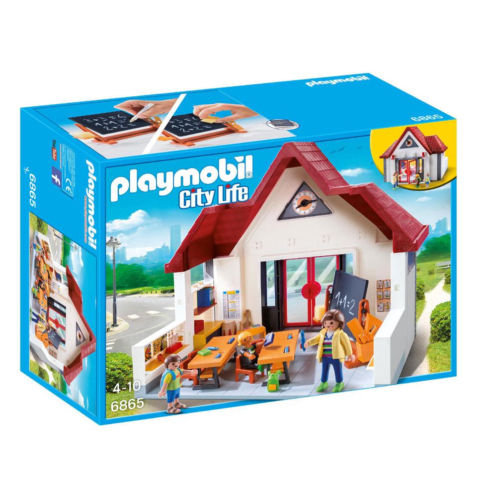 PLAYMOBIL City Life meeneemschool 6865