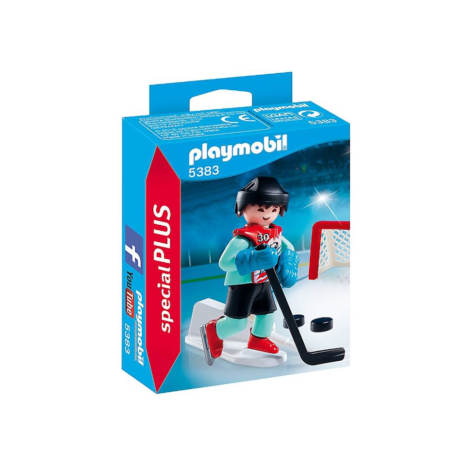 PLAYMOBIL SpecialPLUS ijshockeyspeler 5383