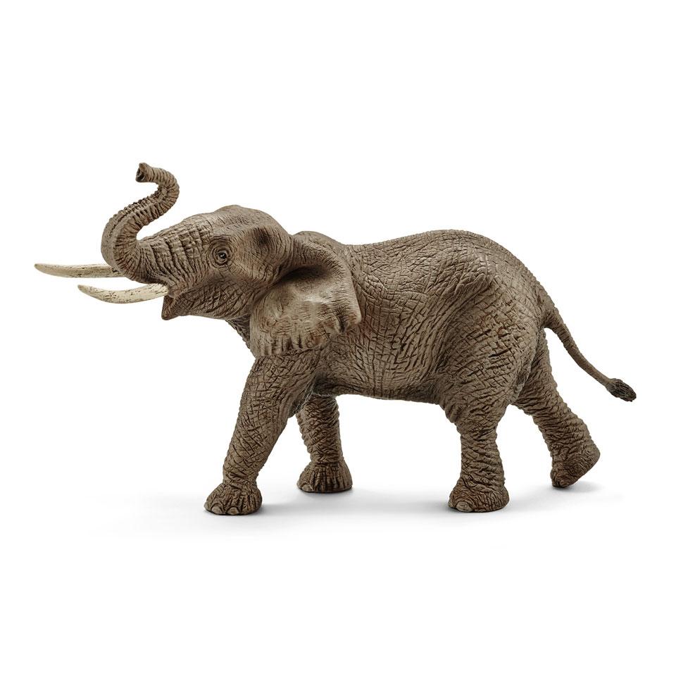 Schleich figuur Afrikaanse olifant mannetje 14762