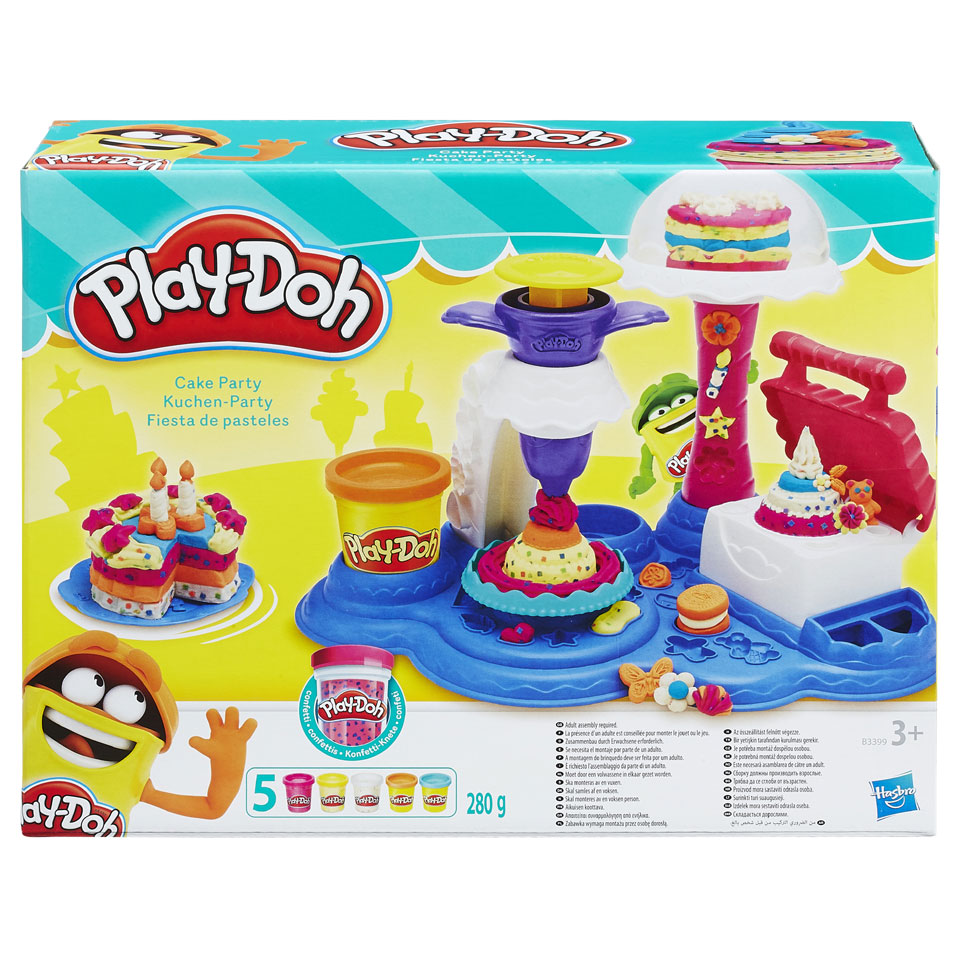 Play-Doh Kitchen Creations cake party