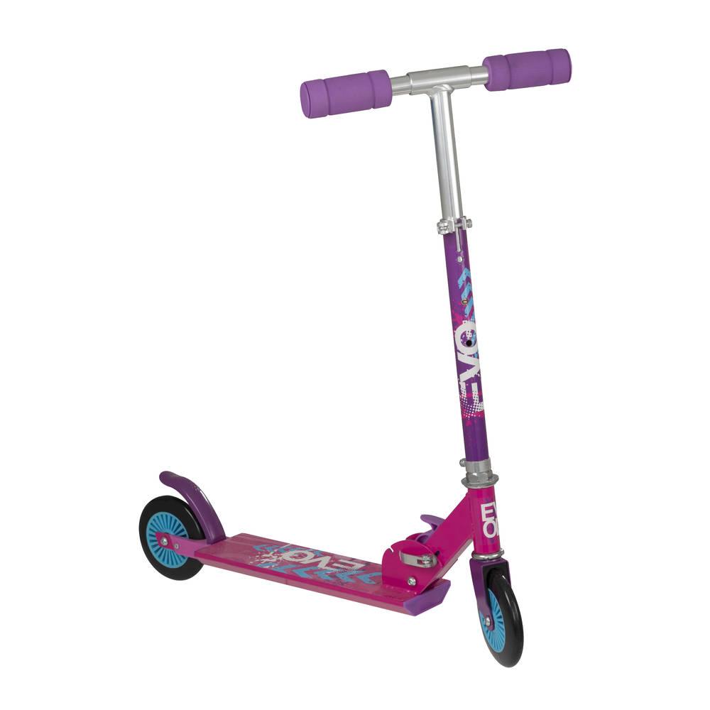 EVO Mistral inklapbare scooter - roze