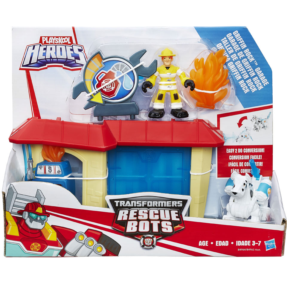 Transformers Rescue Bots avonturen speelset