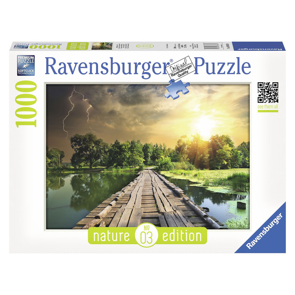 Ravensburger puzzel Mystiek licht - 1000 stukjes