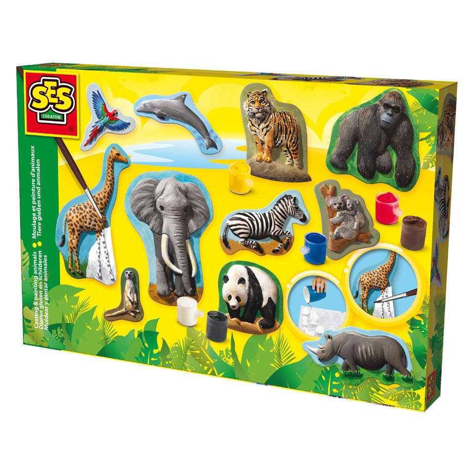 SES Creative gieten en schilderen - dieren