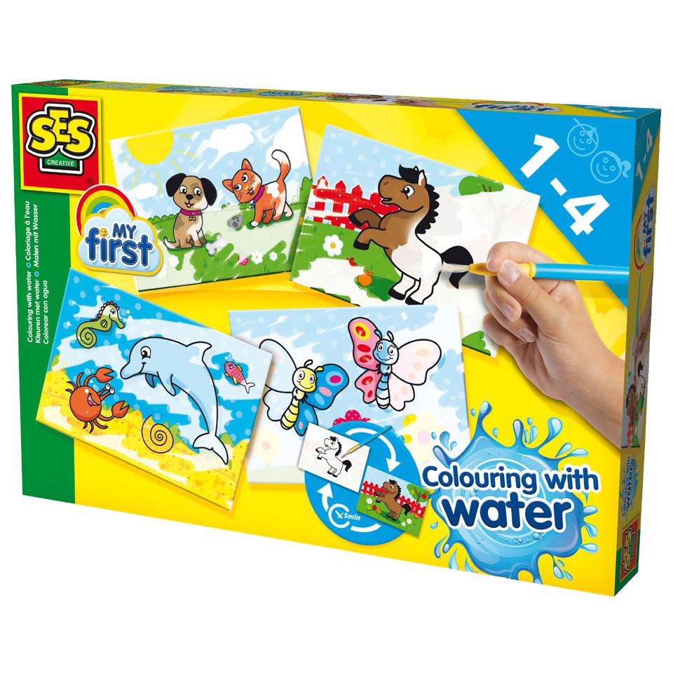 SES My First kleuren met water