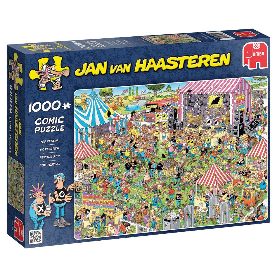 Jumbo Jan van Haasteren puzzel Popfestival - 1000 stukjes