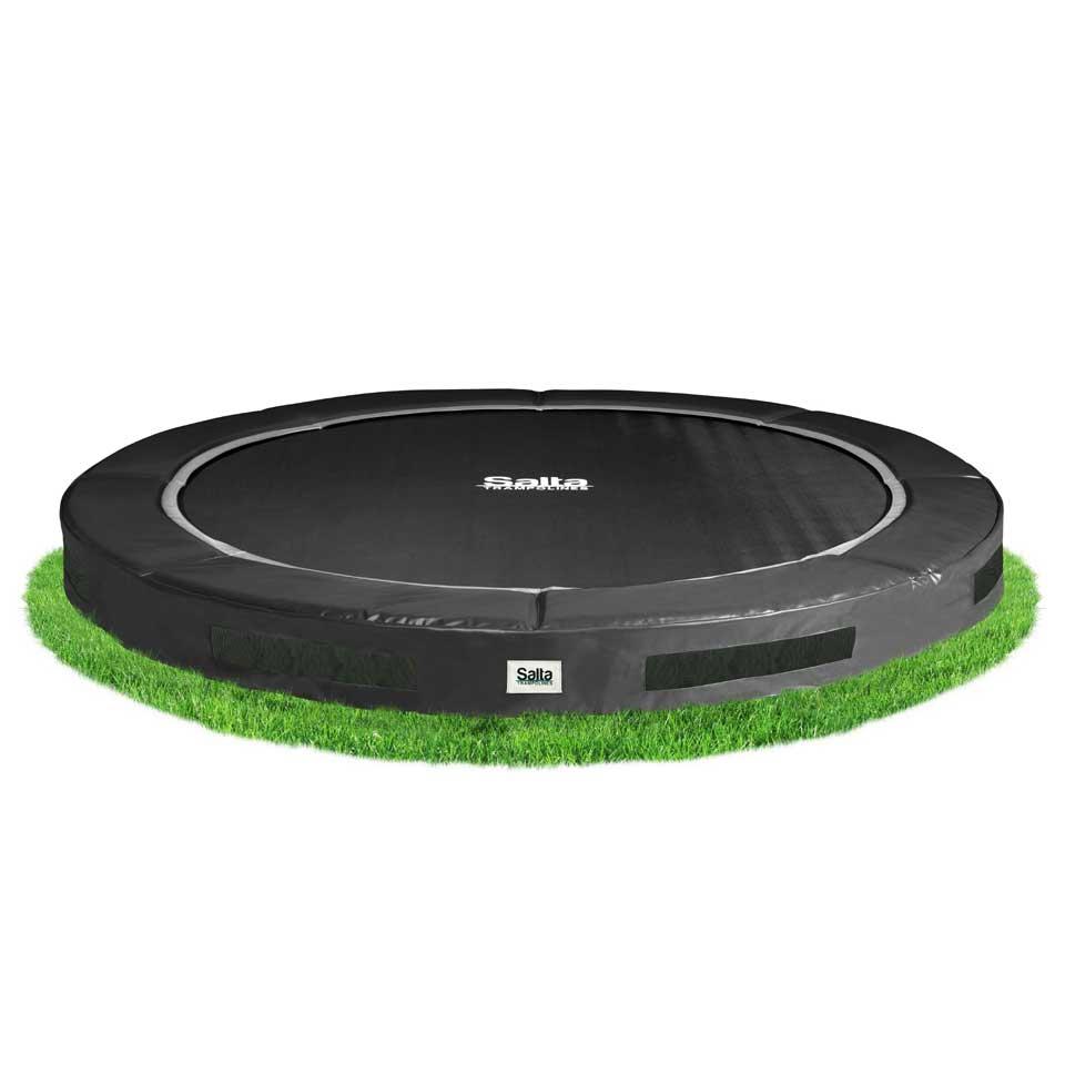 Salta Excellent Ground verlaagde trampoline rond - 183 cm - zwart