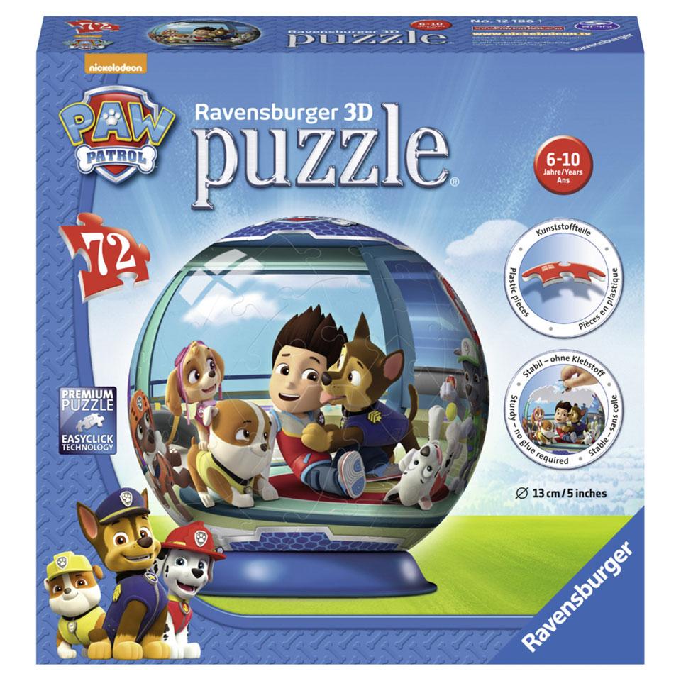 Ravensburger PAW Patrol 3D-puzzel - 72 stukjes