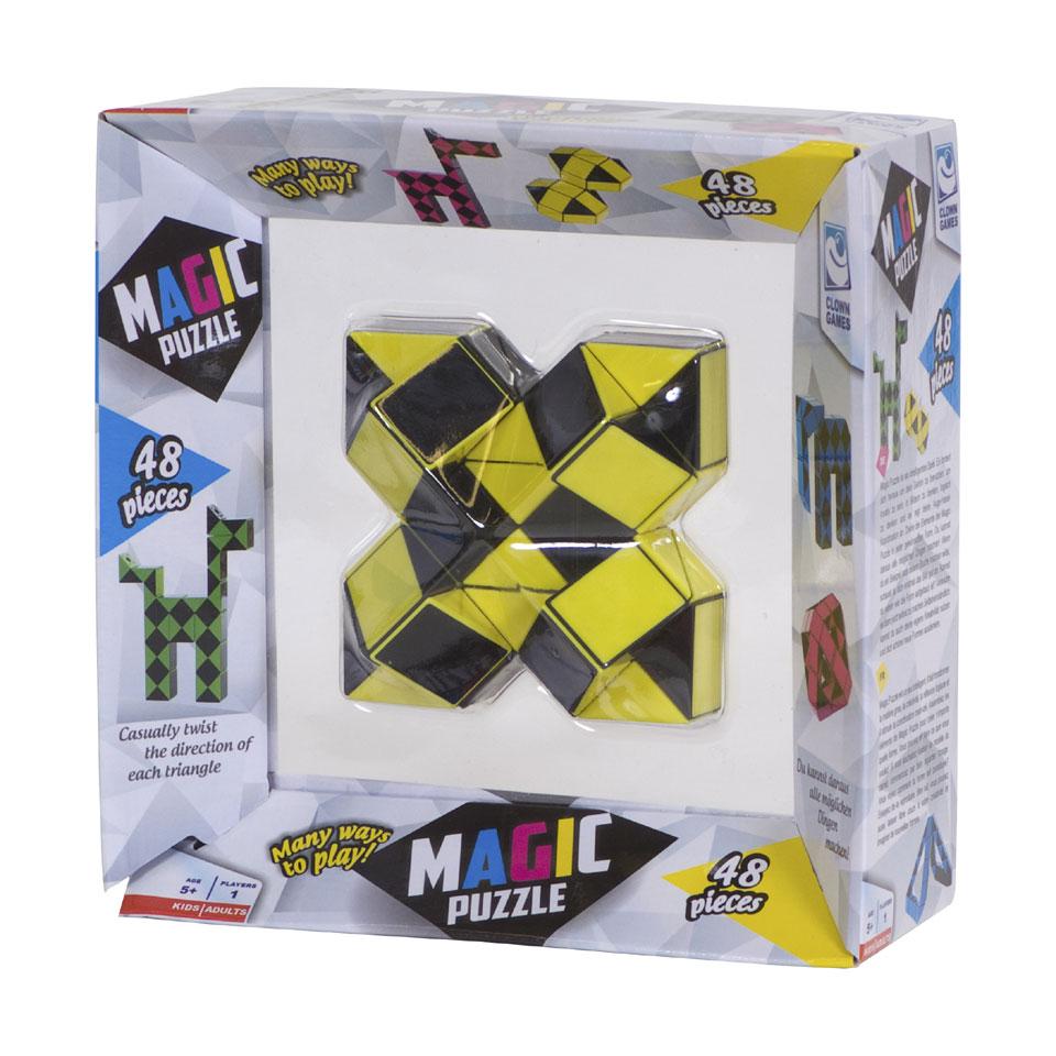 Clown Games Magische 3D-puzzel - 48 stukjes
