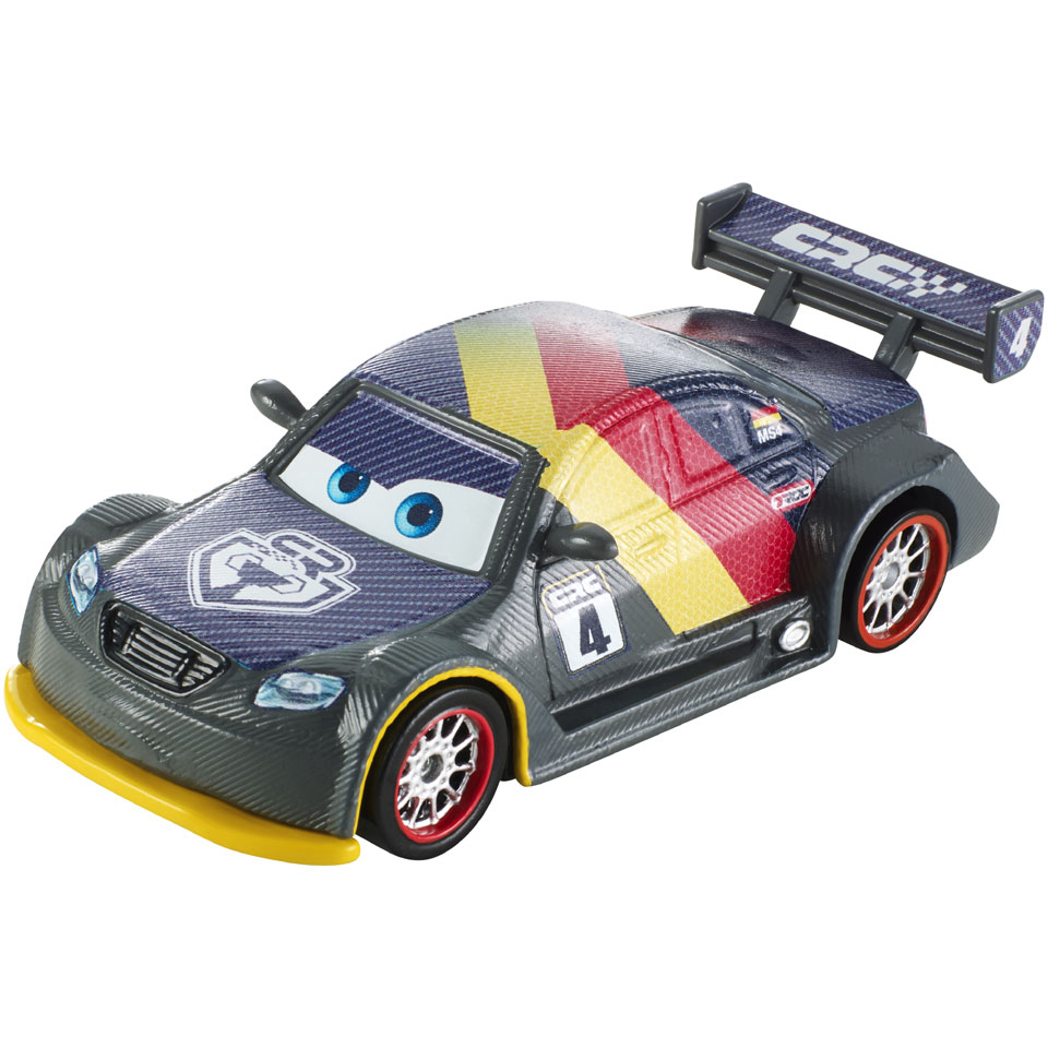 Disney Cars Carbon Racers metalen voertuig Max Schnell
