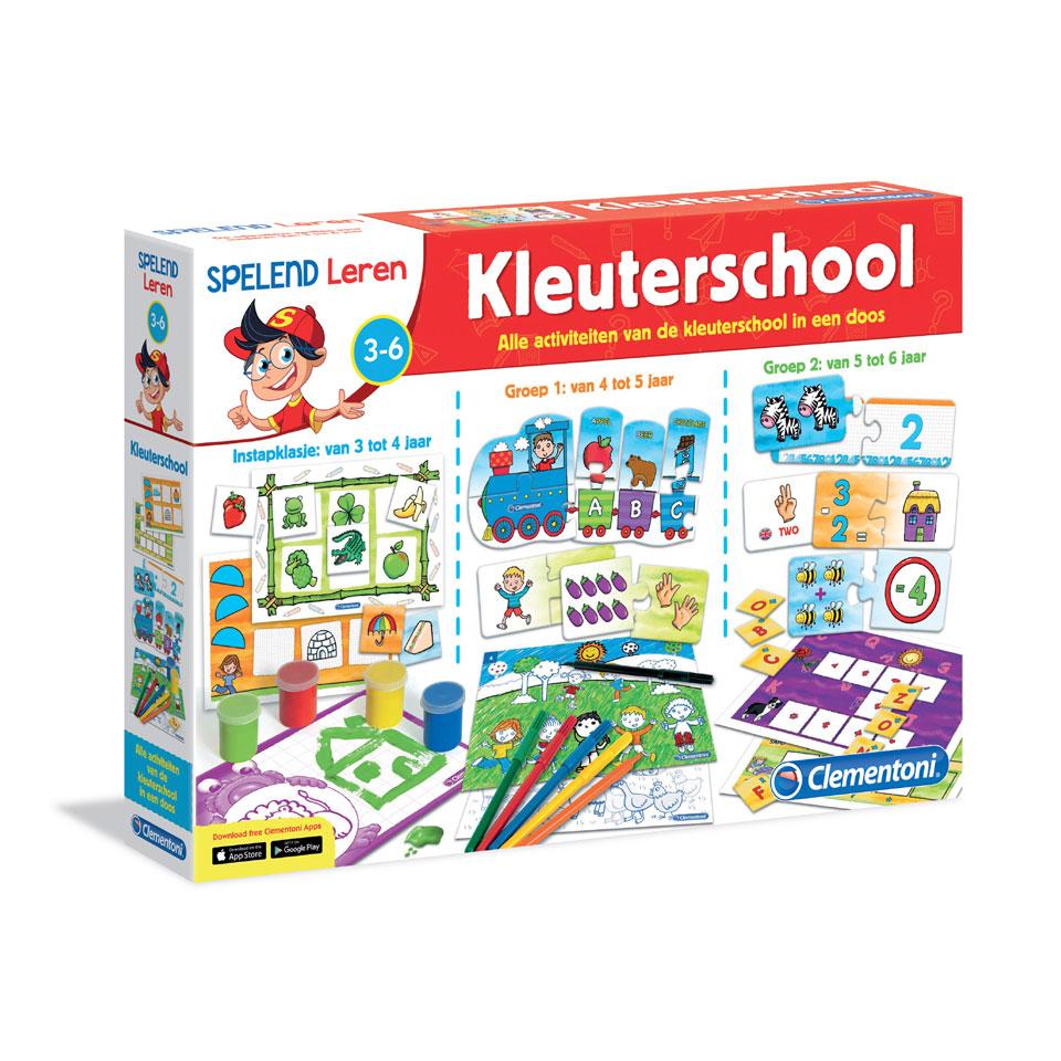Clementoni educatieve spellen voor de kleuterschool
