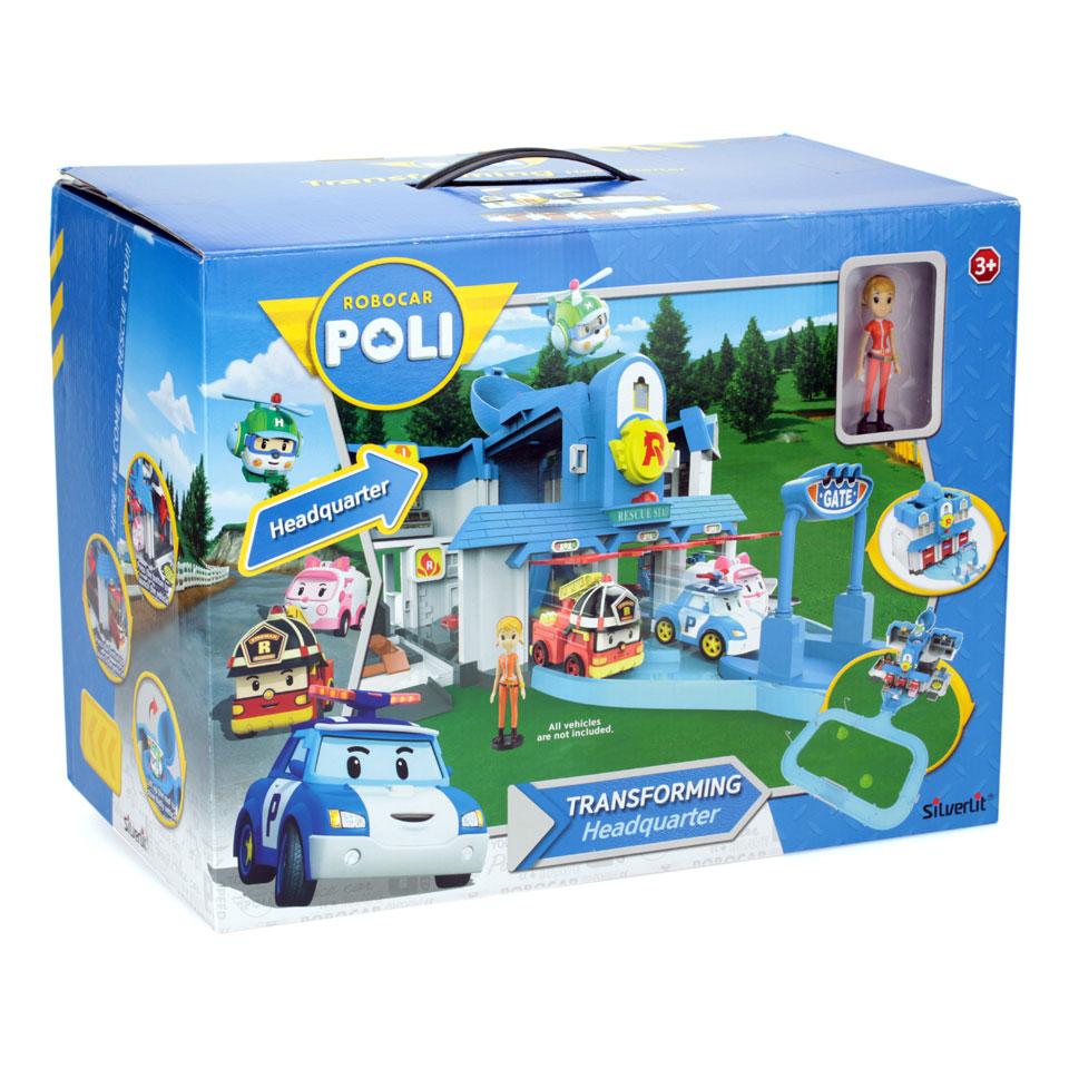 Robocar Poli transformerend hoofdstation