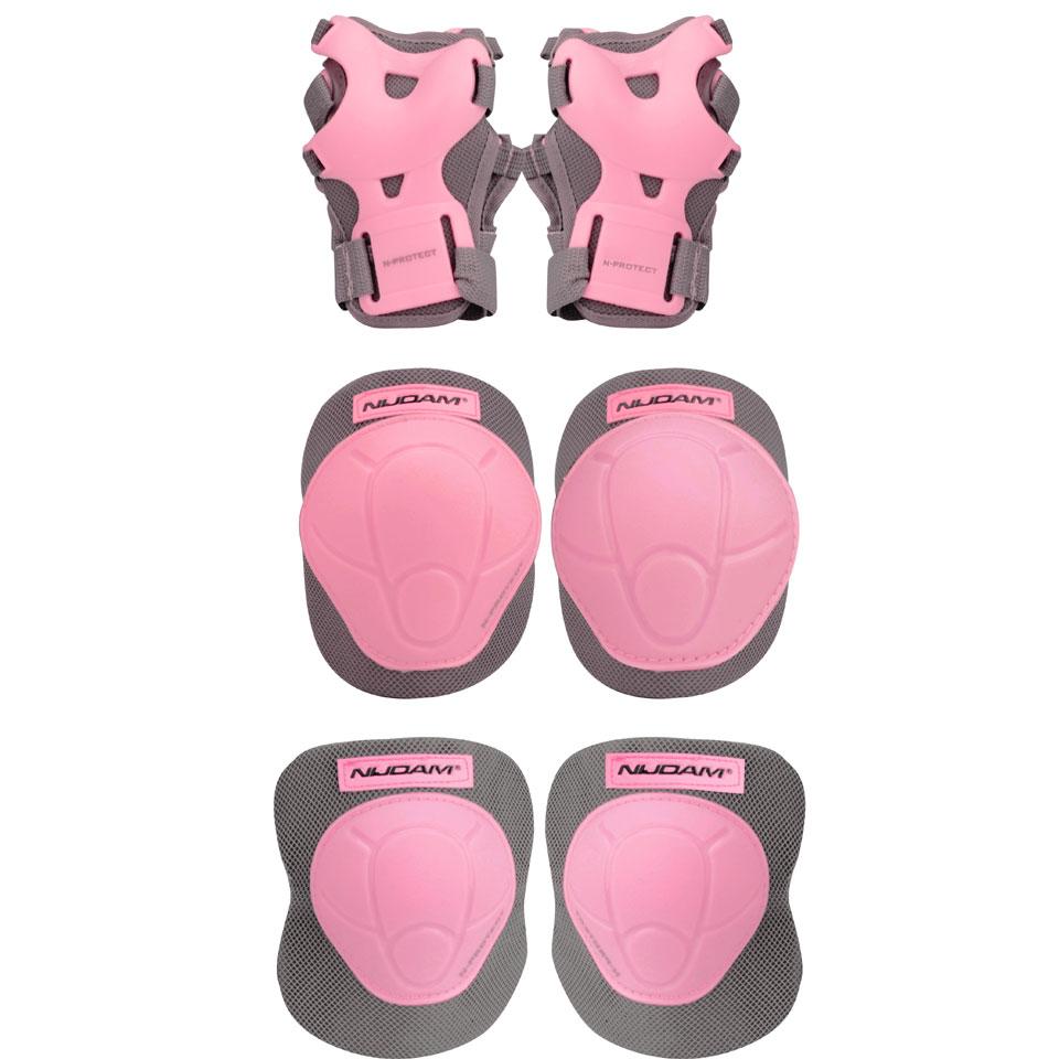 Nijdam beschermset N-protect maat L - roze