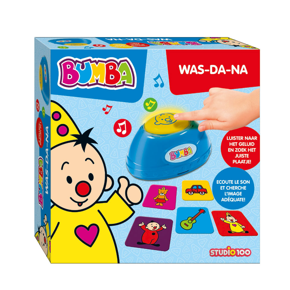 Bumba geluidenspel Was-da-na?