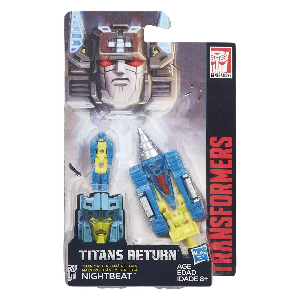 Transformers Generations Titan Masters