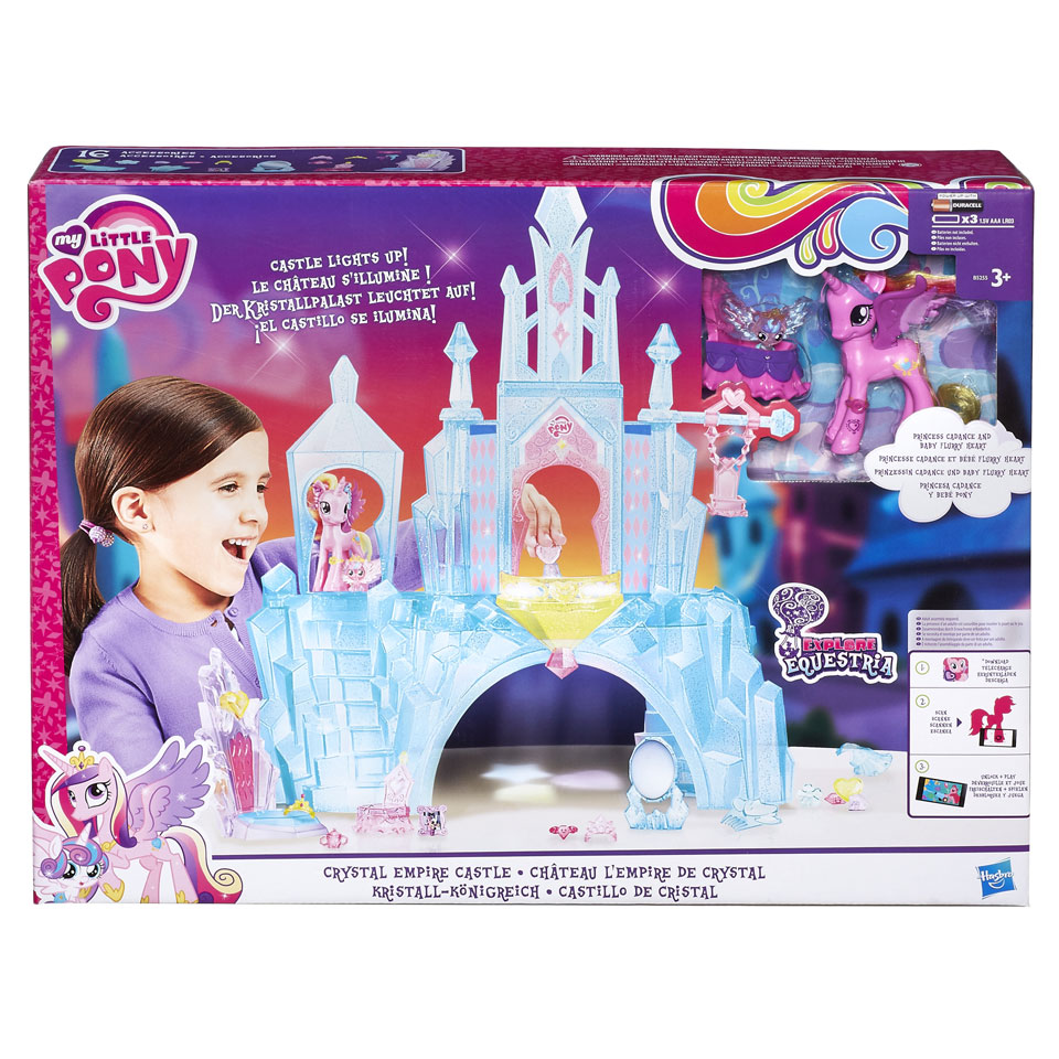 My Little Pony Crystal Empire speelset