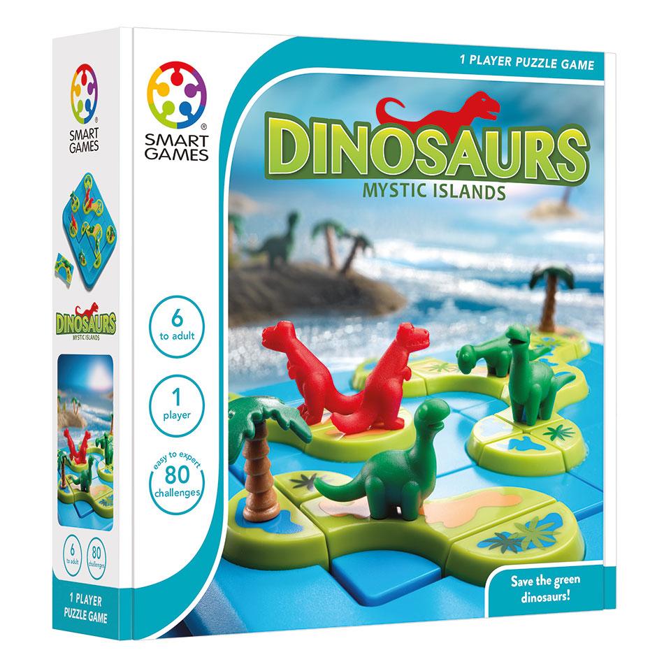 Dinosaurs Mysterieuze Eilanden spel