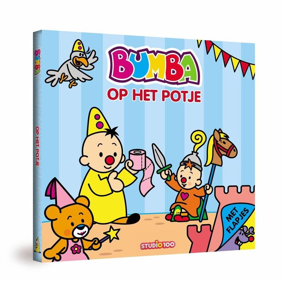 Bumba kartonboek op het potje