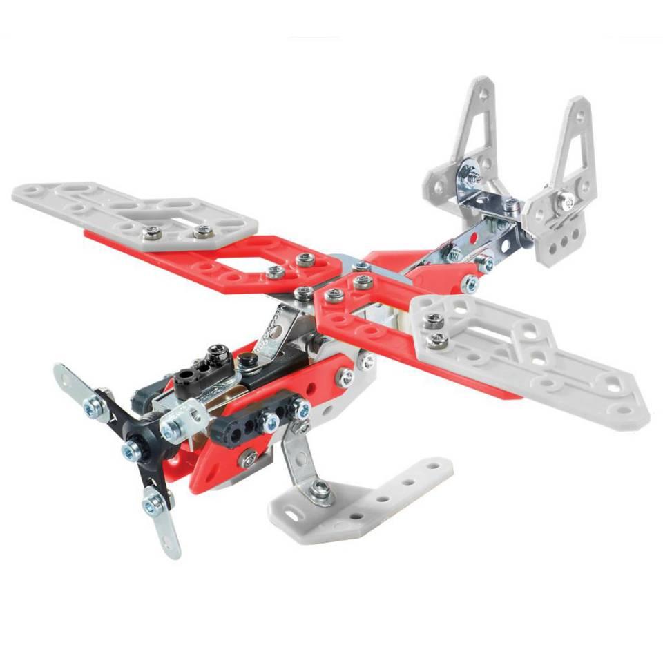 Meccano 20 modellen set helikopter - multikleur