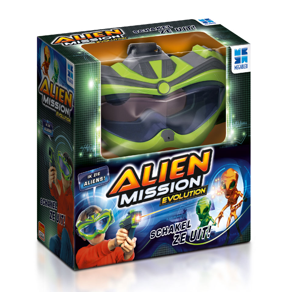 Megableu Alien Mission Evolution gezelschapsspel