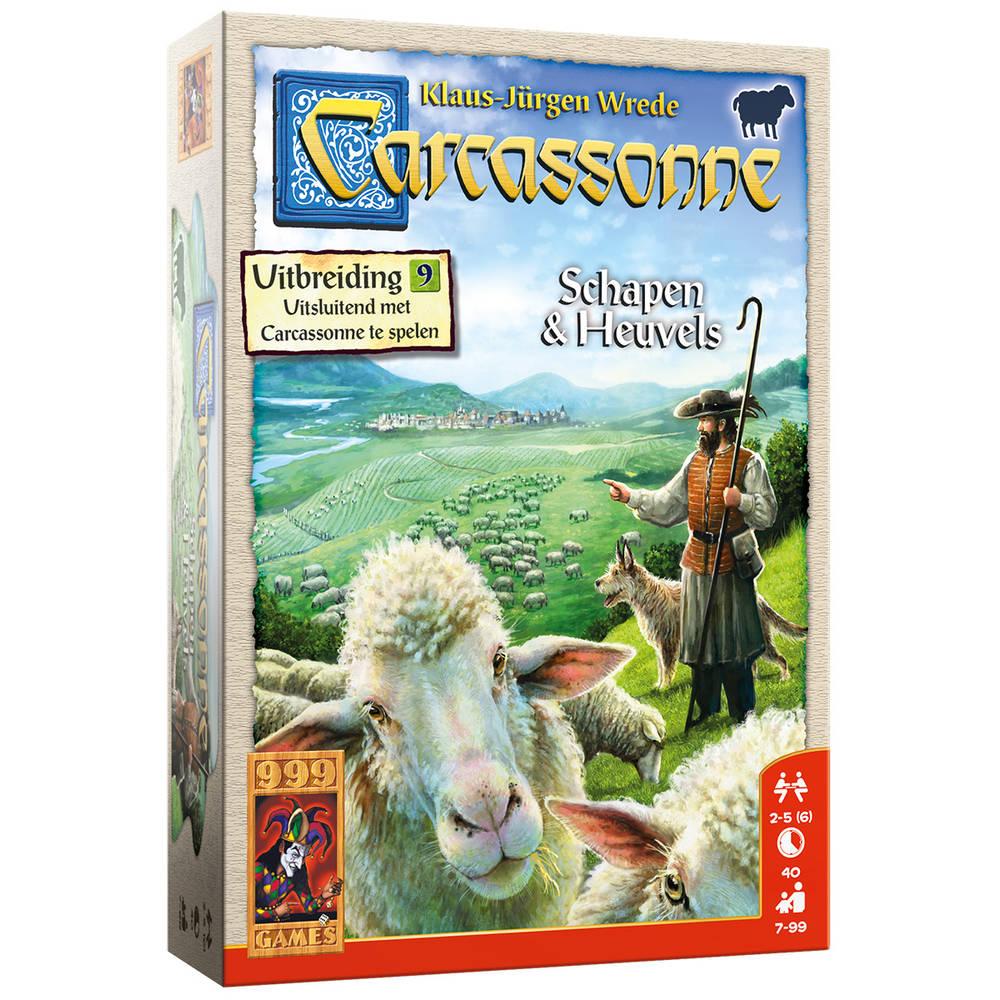 Carcassonne uitbreiding: Schapen en Heuvels spel