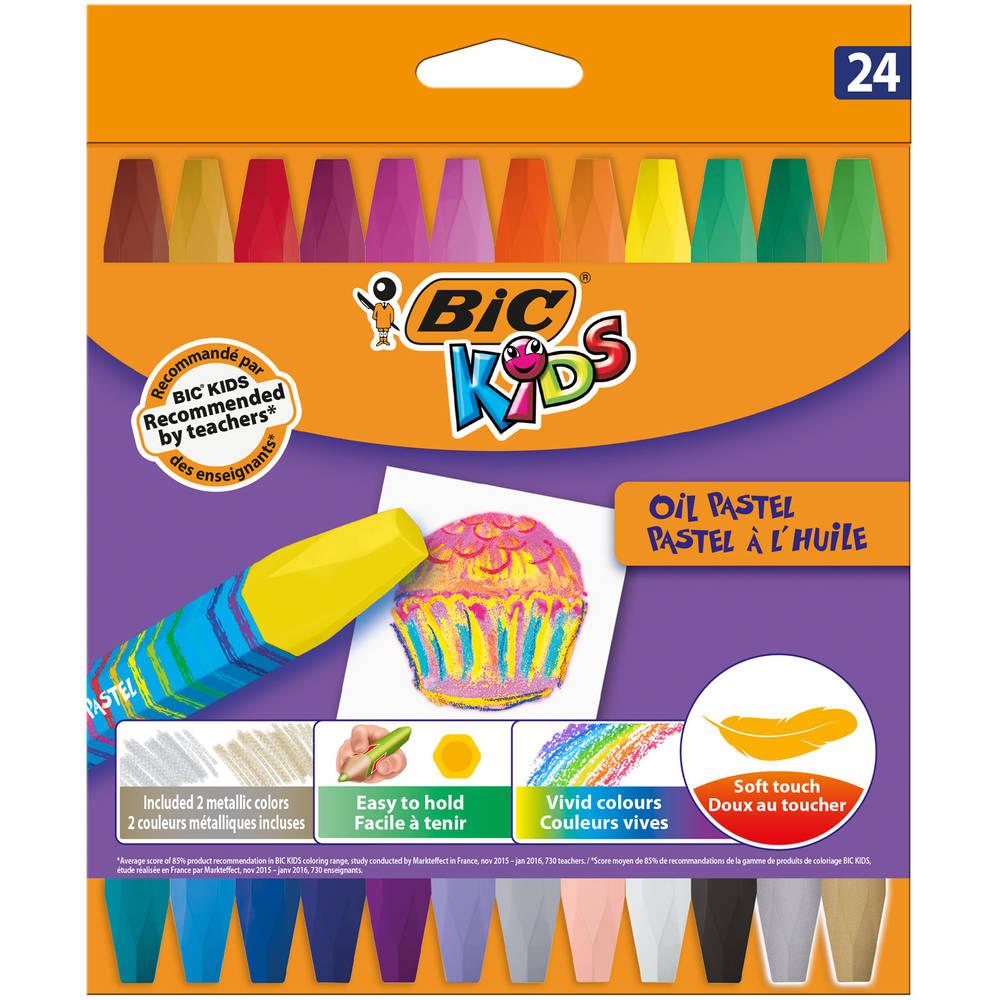BIC Kids waskrijt set 24-delig