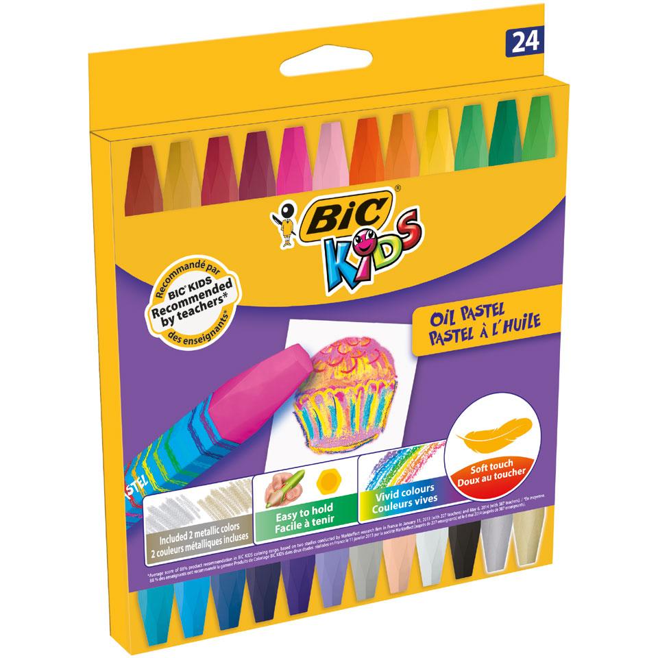 BIC Kids waskrijt - 24 stuks