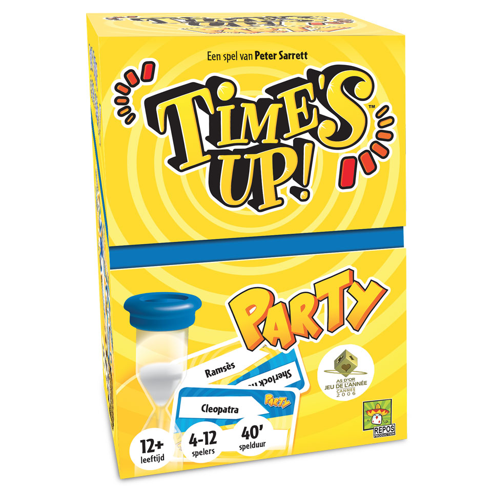 Time's Up! bordspel - Belgische versie