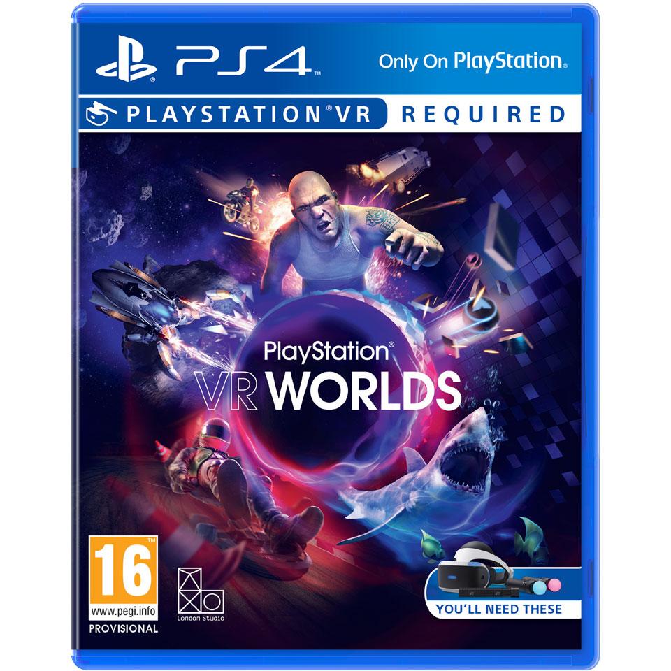 PS4 VR PlayStation VR Worlds