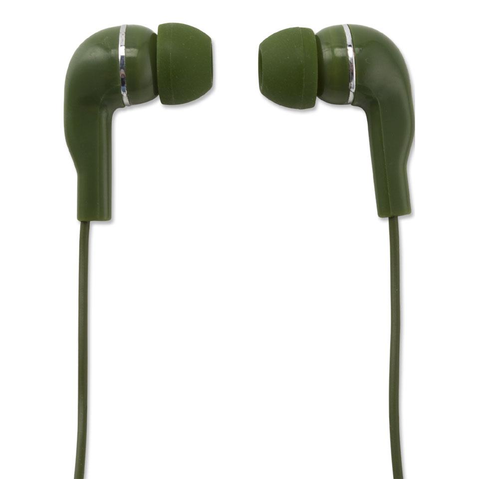 Wonky Monkey oordopjes - groen